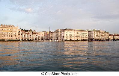 Piazza Unità d'Italia, Trieste - Viev of Piazza Unità...