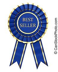 Ribbon award labeled best seller
