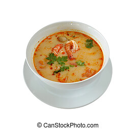 Thai Food Tom Yum Goong - Tom Yum Goong is favorite Thai...
