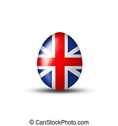 Great Britain Easter Egg