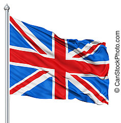 Flag United Kingdom Of Great Britain - UK national flag...