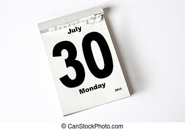 30. July 2012