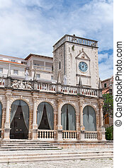 the former governors palace - the loggia (the former...