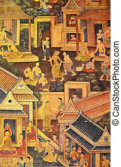 Traditional Mural