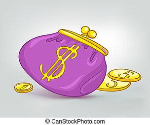 Cartoon Home Miscellaneous Wallet