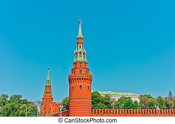 Old Kremlin in Moscow