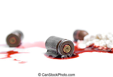 bullets, blood and cocaine