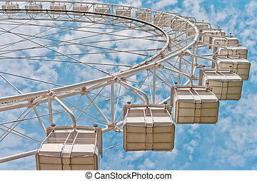 Ferris Wheel in Moscow, Russia, East Europe
