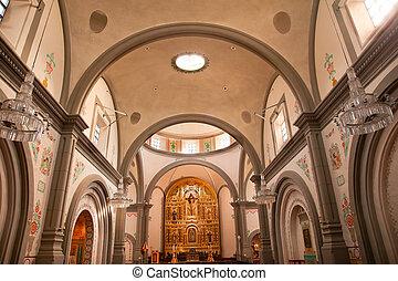 misja, bazylika, San, Huan, Capistrano, kościół,...