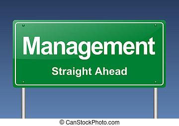 managemen traffic sign