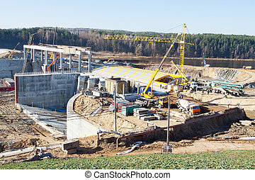 Construction of hydropower plant - Construction of...