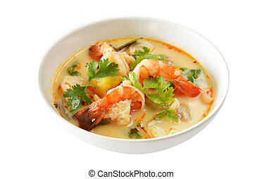 Tom Yum Goong Thai Food