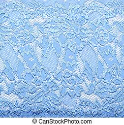 azul, Renda, Padrão, cor, maneira, fundo, branca