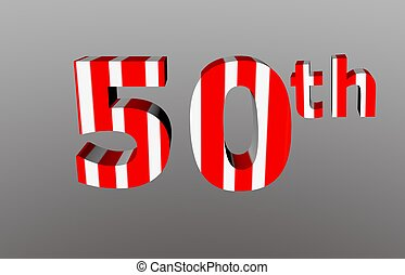 Anniversary number - 50th