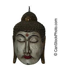 balinese mask - balinese indonesian mask used at dancings