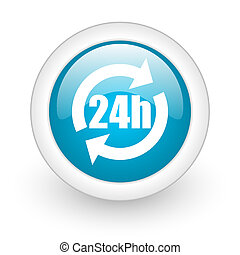 24h web button
