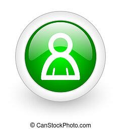 person web button