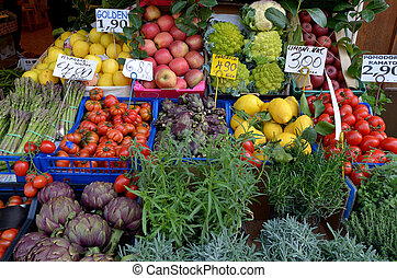 Market - vegetables