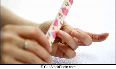 Modern manicure treatments