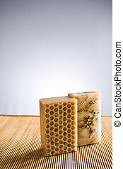 Natural hand crafted soap. - Spa accessories, natural hand...