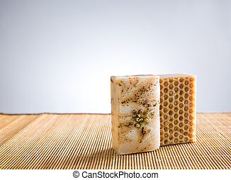 Hand crafted organic soap. - Hand crafted organic soap,...