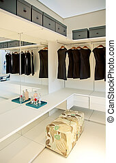 dress room in house