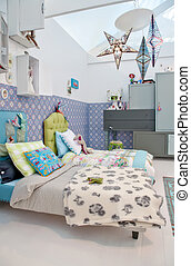 colorful childre room - design of colorful children room