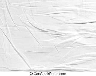 Crease fabric texture white for background