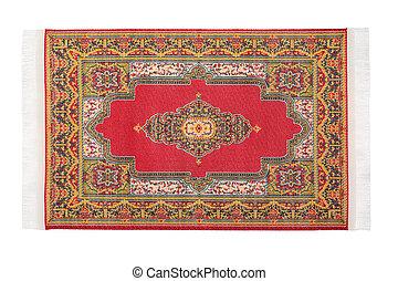 rectangular, rojo, alfombra, horizontalmente, mentiras,...