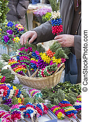Selling colorful Palm Sunday bundle - Arranging and selling...