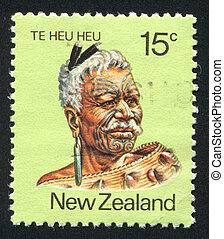 Maori Leader Te Heu Heu Tukino IV - NEW ZEALAND - CIRCA...
