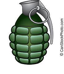 Hand grenade - Green hand grenade