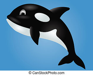 Orca cartoon