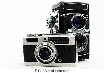 set,  cameras,  film