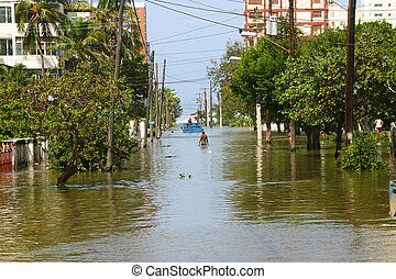 Flooding Havana 2005 - Flooding after a hurricane in October...