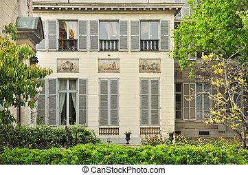 Classic french house in Paris