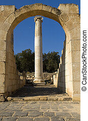 archaeological excavations ,Israel