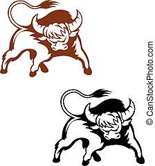 salvaje, búfalo