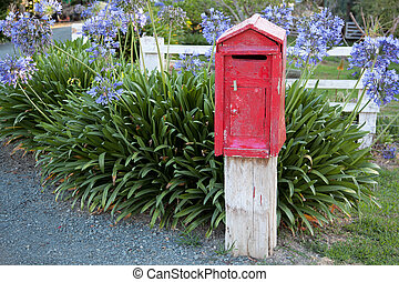 New Zealand post box
