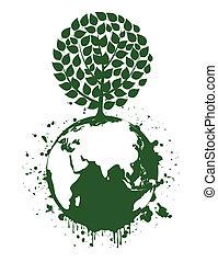 Tree a planet