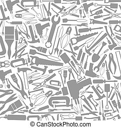 Tool a background - Grey background from tools. A vector...