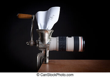 Photographers creativity - Idea to photo is born -...
