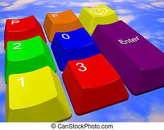 Happy new year 2013 - keys