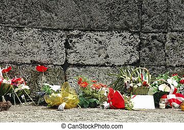 Auschwitz, the museum of Holocaust - Auschwitz, Poland, the...