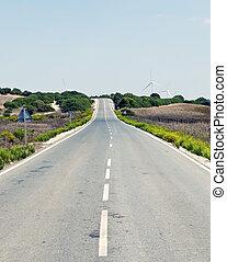 land, Straße
