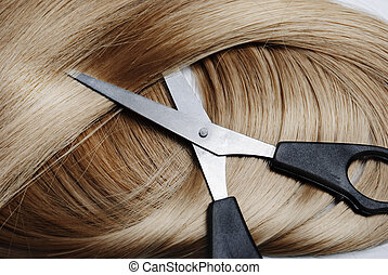Blonde Hair - Long healthy blonde hair and professional...