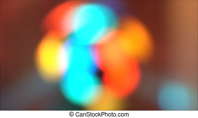 lights at the disco 3 - blurred colorful lights at the disco...
