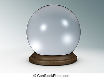 Crystal ball - Illustration of a crystal ball.