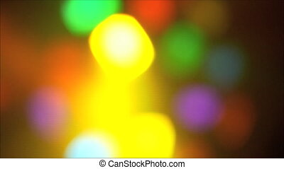 Colorful lights at the disco 2
