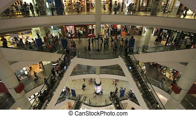Shopping mall - Terminal 21, a newly open shopping mall in...